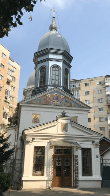 """Biserica """"Sfânta Treime""""-Manu Cavafu (Bucureşti)"""