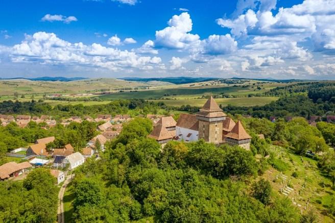 Cetatea Viscri (comuna Buneşti, jud. Braşov)