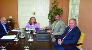 Întâlniri între membrii Consulatului din Sevilia şi autorităţile andaluze