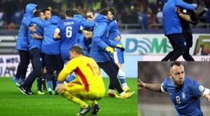 România a ratat calificarea la CM de fotbal din Brazilia