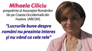 Asociaţia Românilor din Huelva propune să nu se mai menţioneze naţionalitatea celor care comit infracţiuni grave
