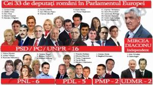 Cine sunt cei 32 de europarlamentari care ne vor reprezenta la Bruxel în Legislatura 2014-2019