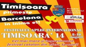 Timişoara găzduieşte cel mai mare festival catalan din afara Spaniei
