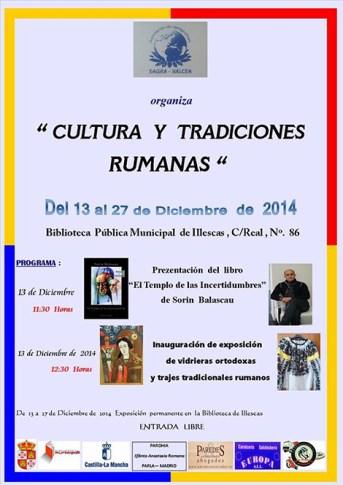Afişul evenimentelor organizateîn luna decembrie în Illescas