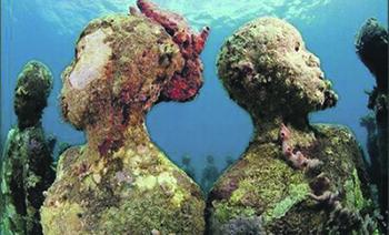Sculptuă a artistului Jason de Caires Taylor