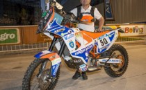 Motociclism: Marcel Butuza a abandonat în etapa a 8-a la Raliul Dakar 2015