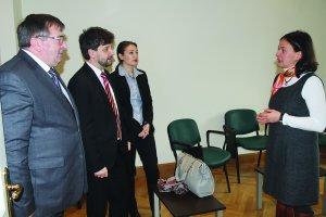 Deputaţii Mihai Deaconu şi Aurelian Mihai la ICR Madrid