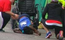 Dramatica trecere a liniei de sosire a unei atlete la maratonul de la Austin, un exemplu de autodepăşire, ambiţie şi curaj
