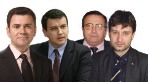 Mircea Dolha, Eugen tomac, Mihai Deaconu şi aurelian Mihai