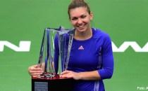 Simona Halep a câştigat Indian Wells, cel mai important titlu din carieră, la capătul unei bătălii dramatice cu sârboaica Jelena Janković