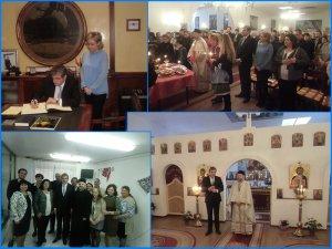 Ambasadorul României la Madrid în vizită la Aranjuez