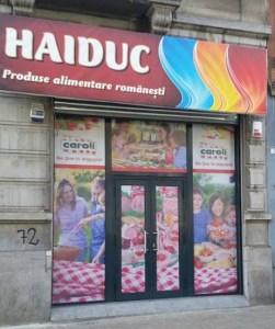 Magazinul Haiduc din Anderlecht