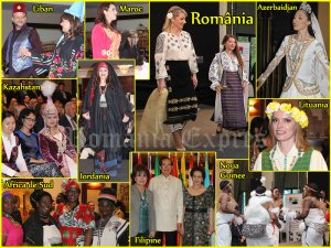Parada costumelor populare Diplomatic cultural Show 2015
