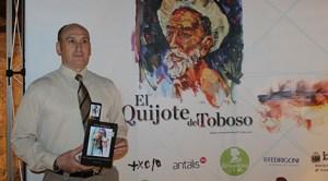 Scriitorul Sorin Bălăşcău, în El Toboso, la cea de-a XXIV-a aniversare a Zilelor lui Cervantes