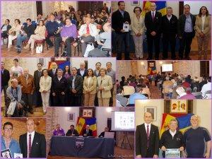 """Secvenţe  de la prima conferință despre """"Scriitorii quintanareni"""" organizată de Asociaţia Culturală Hispano Română Gente"""