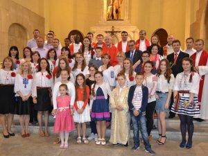 Consulul Geanina Boicu a participat la hramul Sfintei Fecioare Maria, Mama Unității, oficiată de episcopul orașului Lerida
