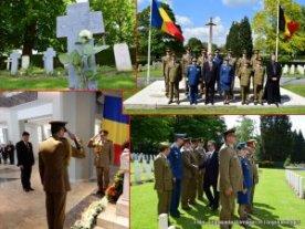 Eroii Neamului comemoraţi la Liege şi la Mons de Ziua Eroilor