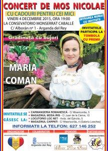 Cartel Maria Coman