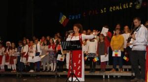 Madrid: Elevii cursului LCCR din Coslada au sărbătorit Ziua României prin cântec şi poezie