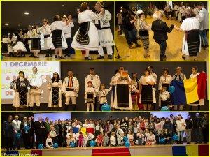 Secvenţe de la Ziua Naţională a României în Lliria