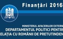 DPRRP anunță finalizarea evaluării proiectelor depuse în cadrul sesiunii de finanțare din 2016