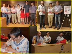 Secvenţe de la prezentarea de carte a Elisabetei Boţan în Quintanar de la Orden