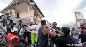 Cel puțin 38 de persoane au murit în urma unui puternicul cutremur petrecut în centrul Italiei