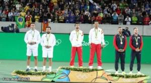 Tenismenii Florin Mergea și Horia Tecău, medaliați cu argint în proba de dublu masculin