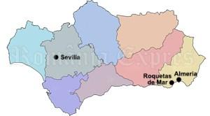 Sevilia, Roquetas de Mar, Almeria