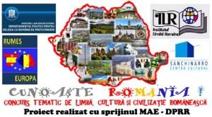 Cunoaşte România - Concurs tematic de limbă, cultură şi civilizaţie românească