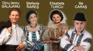 Dinu Iancu Sălăjanu, Ştefania Rareş, Elisabeta Turcu şi Ilie Caraş