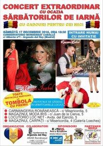 Afiş Concert Extraordinar Sărbători de Iarnă în Arganda del Rey