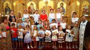 "Serbare de sfârșit de an şcolar la Parohia ""Sfântul Nicolae"" din Castellón de la Plana"