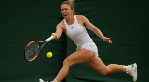 Simona Halep la Wimbledon 2017