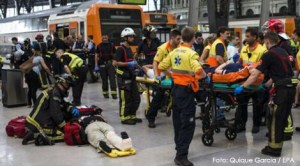 Un român printre victimele unui accident feroviar petrecut în Barcelona
