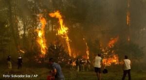 Incendii în Galicia