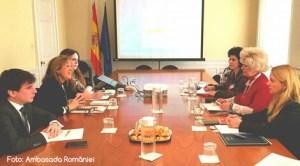 Vizita de lucru la Madrid a delegaţiei ANES condusă de secretarul de stat Graţiela Drăghici