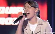 """Flori, românca de 14 ani din Almonte, uimeşte din nou juriul de la """"Vocea Spaniei Junior"""", de data aceasta cu melodia 'Flashlight' a lui Jessie J"""