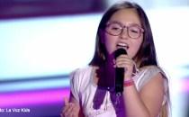 O româncă de 10 ani a fost aleasă la Vocea Spaniei Junior (La Voz Kids)