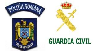 Poliţia Română şi Garda Civilă din Spania