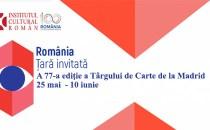 România, țară invitată la Târgul de Carte de la Madrid