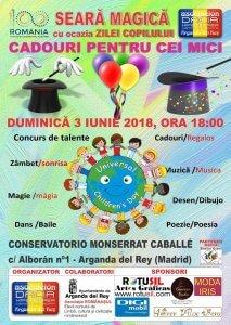 Afis Eveniment Ziua Copilului in Arganda del Rey