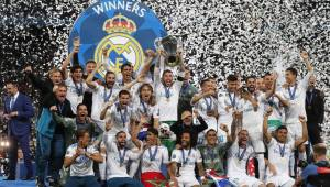 Real Madrid a câştigat Liga Campionilor pentru a treia oară consecutiv