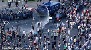 Protestul românilor din străinătate