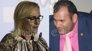 Gabriela Firea şi Claudiu-Traian Covaciu