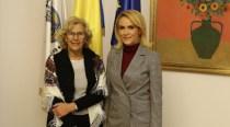 Gabriela Firea şi primarul oraşului Madrid, Manuela Carmena au stabilit crearea de grupuri comune de lucru pentru dezvoltarea unor proiecte în domeniul mobilităţii urbane, smart city şi turismului