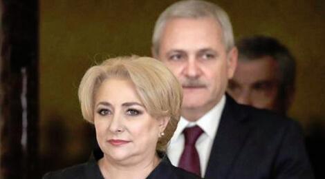 Viorica Dăncilă şi Liviu Dragnea