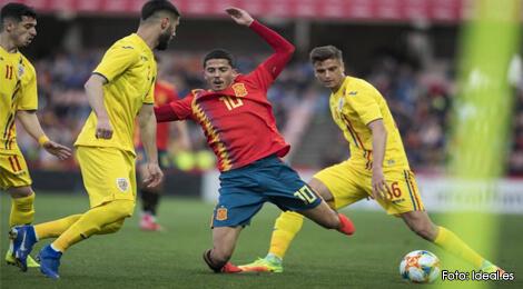 România, învinsă de Spania cu 1-0 în meci amical al selecţionatelor Under-21