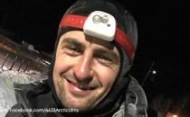Românul Vlad Adrian Crişan Pop, câştigător al cursei de 120 de mile de la Ultramaratonul de la Polul Nord
