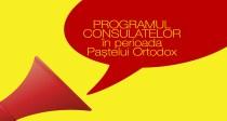 Programul la consulatele româneşti din străinătate în perioada Paştelui Ortodox